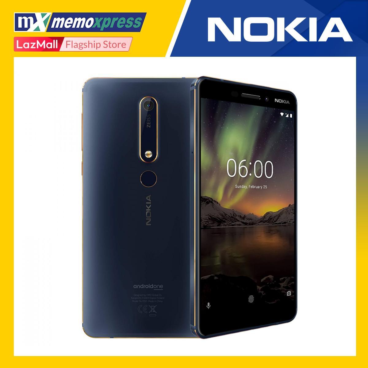 Nokia 6 1 2018 64GB ROM - 4GB RAM (Blue Gold)