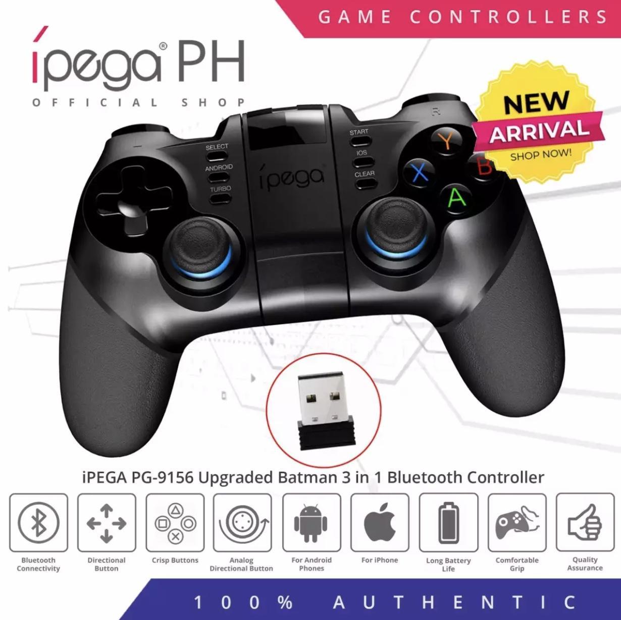 iPega PG-9156 Upgraded PG-9076 Batman 3 in 1 Bluetooth Controller