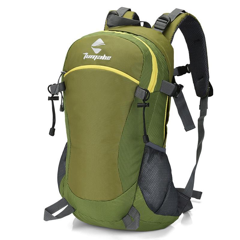 8f894977f35c Waterproof Nylon Outdoor Travel Backpack Rucksack Sport Bag With Rain Cover  Camping Hiking Trekking Backpack