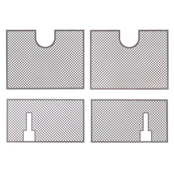 Decoration Metal Protective Net Armored Metal Guard Plate for 1/16 Heng Long German Tiger 3818 RC Tank Upgrade Parts