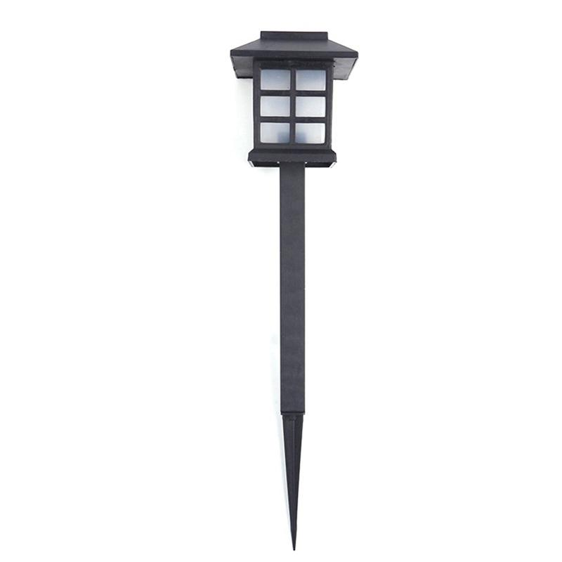 4 Pcs /Lot Palace Lantern Solar Power Garden Light Led Solar Landscape Lamp Outdoor Street Light Garden Pathway Sensor Night Lamp