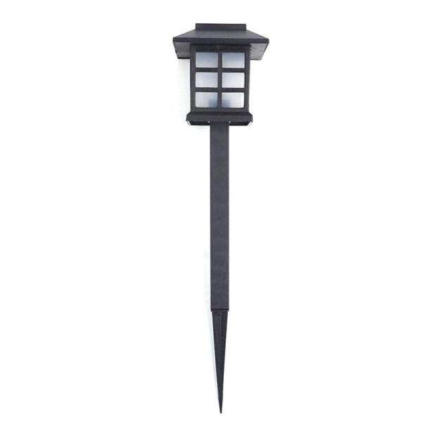 4 Pcs /Lot Palace Lantern Solar Power Garden Light Led Solar Landscape Lamp Outdoor Street Light Garden Pathway Sensor Night Lamp