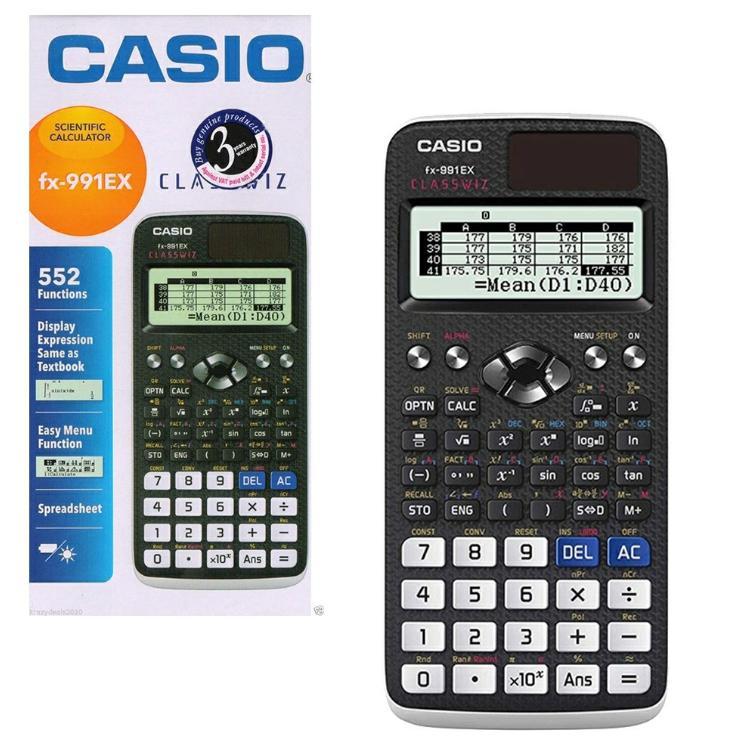 Casio fx-991EX Scientific Calculator Classwiz