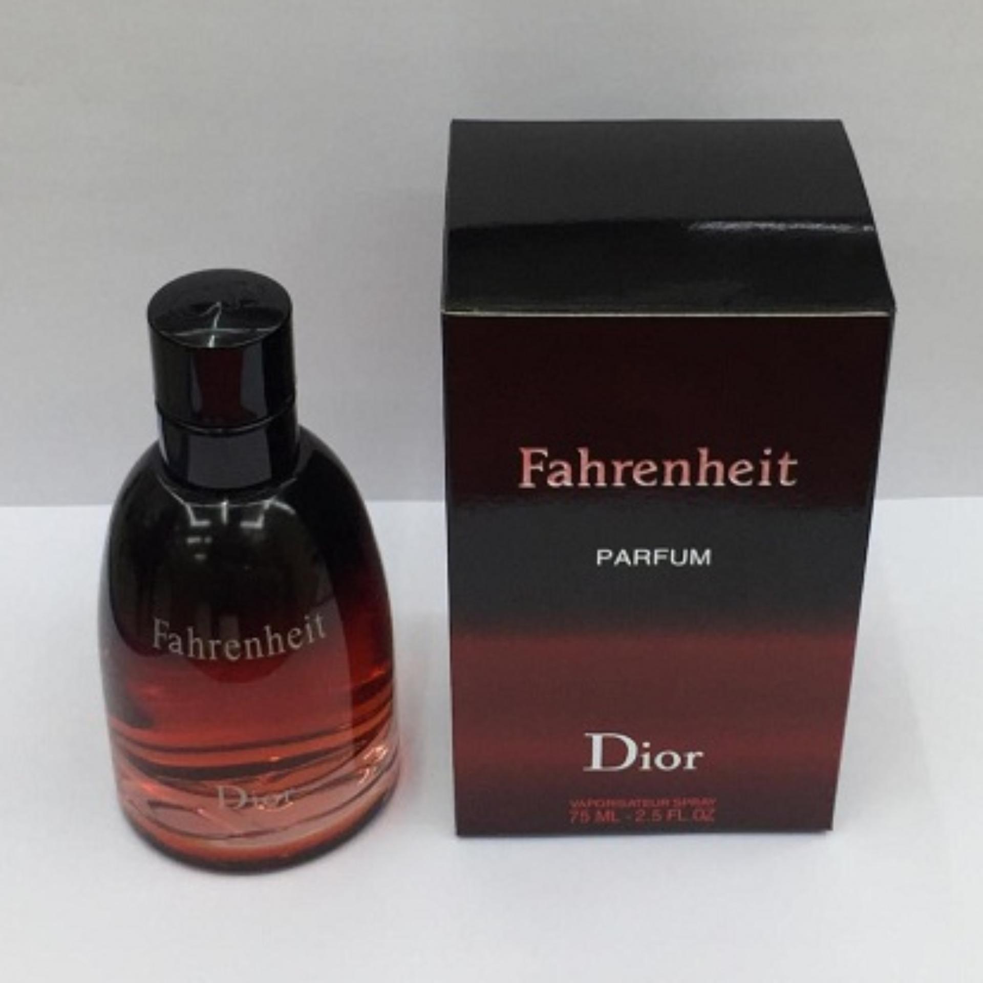 Fahrenheit Parfum by Dior for Men Edt 75ml
