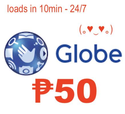 Gl0be/tm Regular Mobile Auto Load Max 50 Pesos By Acts29.