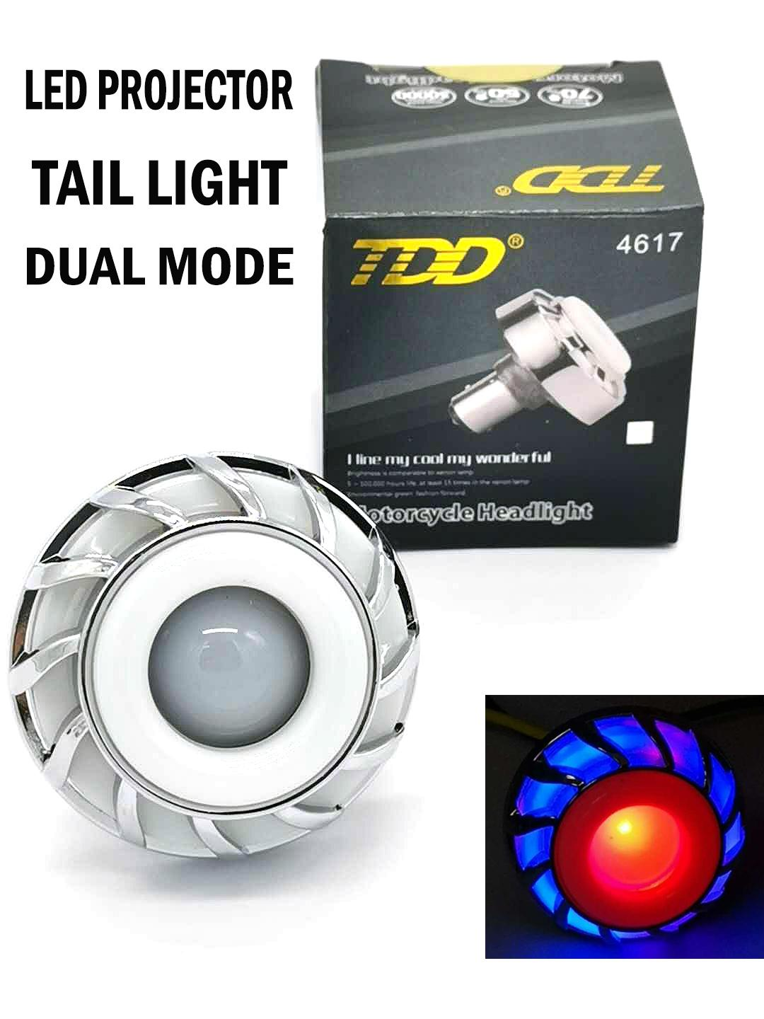 Led Projector Tail Light Dual Mode(rrb) By Gemos Car Accessories.
