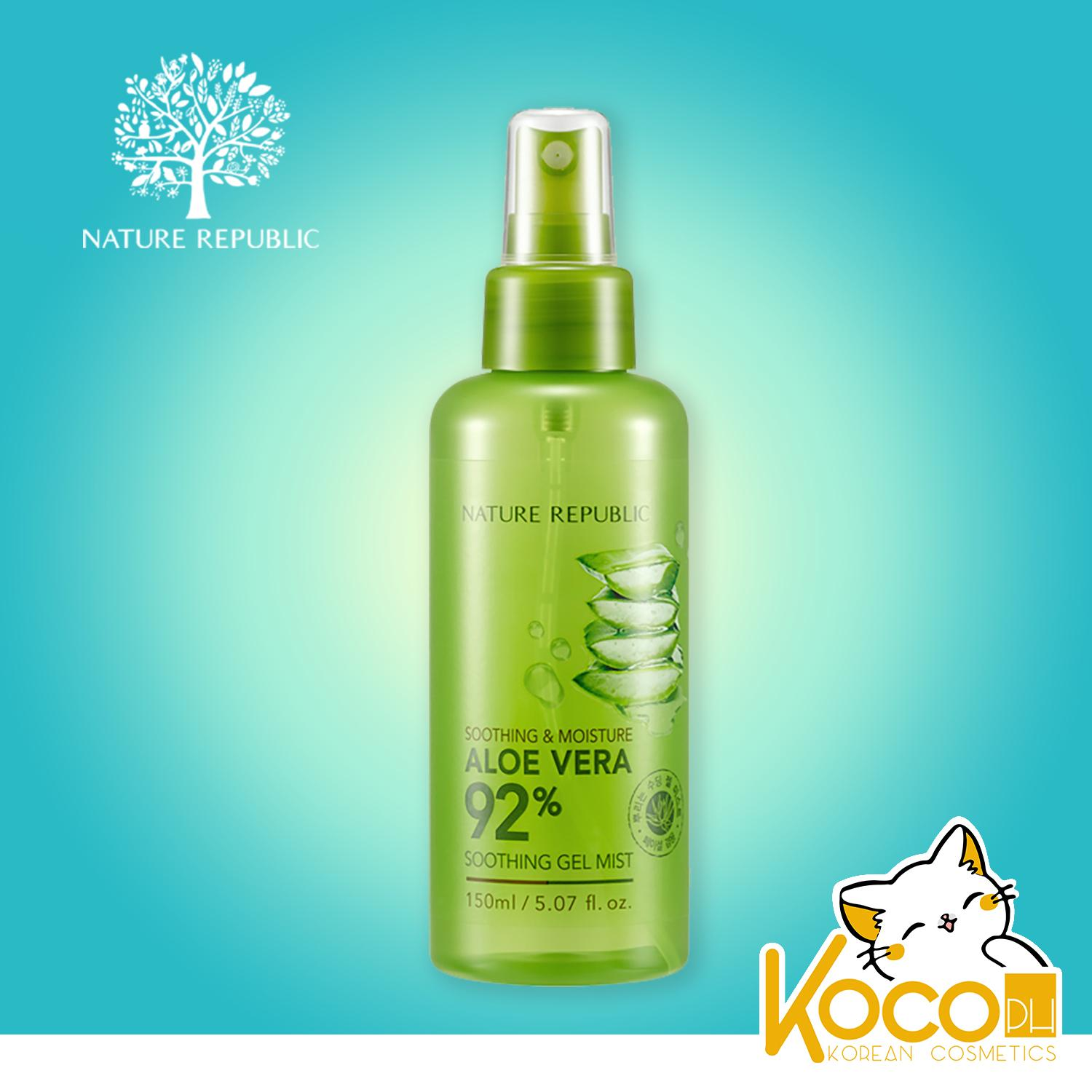 Authentic Nature Republic - Soothing And Moisture Aloe Vera 92% Soothing Gel Mist By Koco Ph.