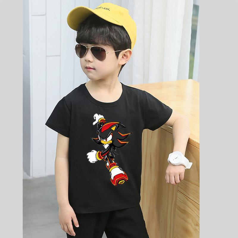 9523810fc Tshirt for kids t shirt Boy T-shirt Girls Cartoon Pattern T-shirt Children