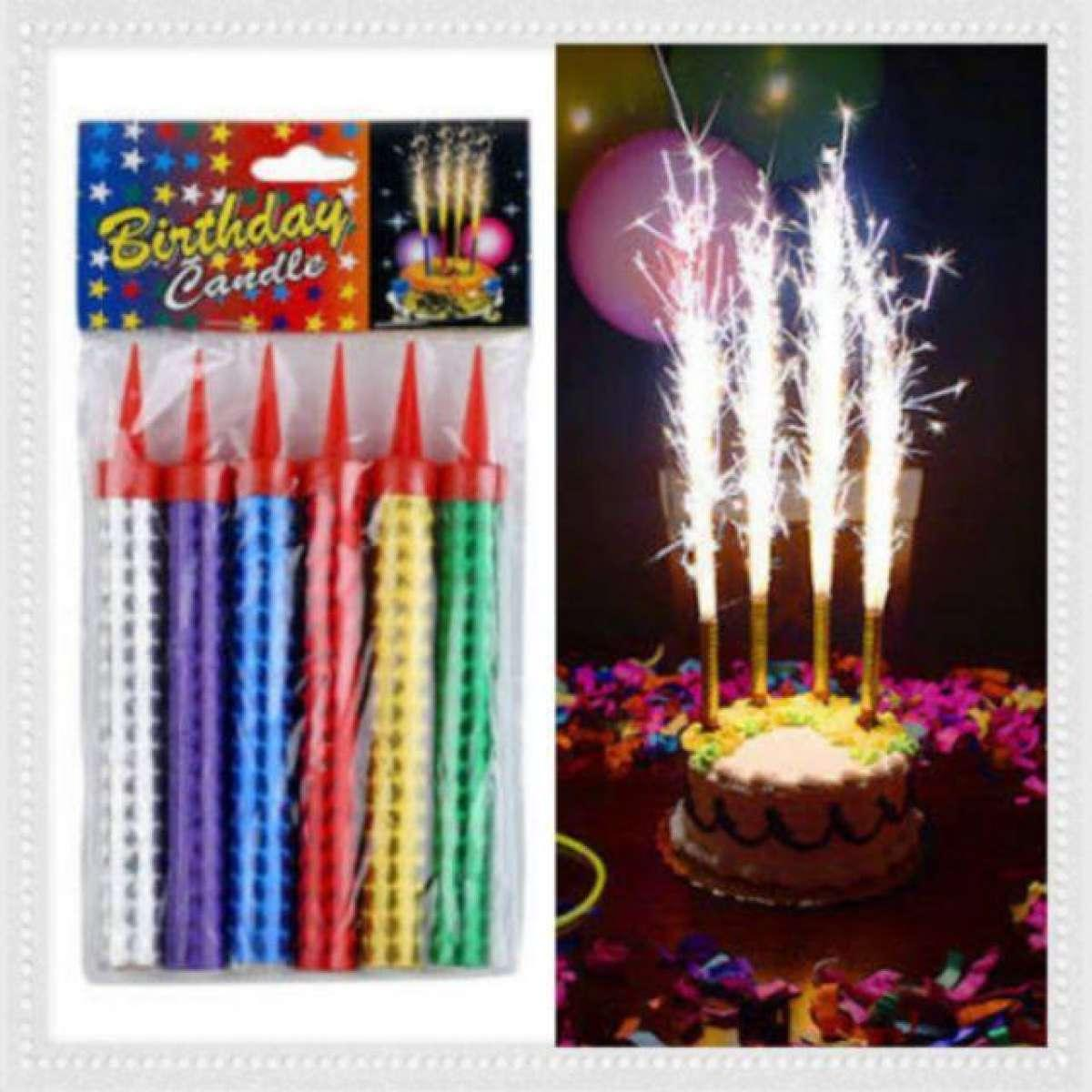 Phenomenal Universal Celebration Candle Birthday Party Cake Candles Spark Funny Birthday Cards Online Alyptdamsfinfo