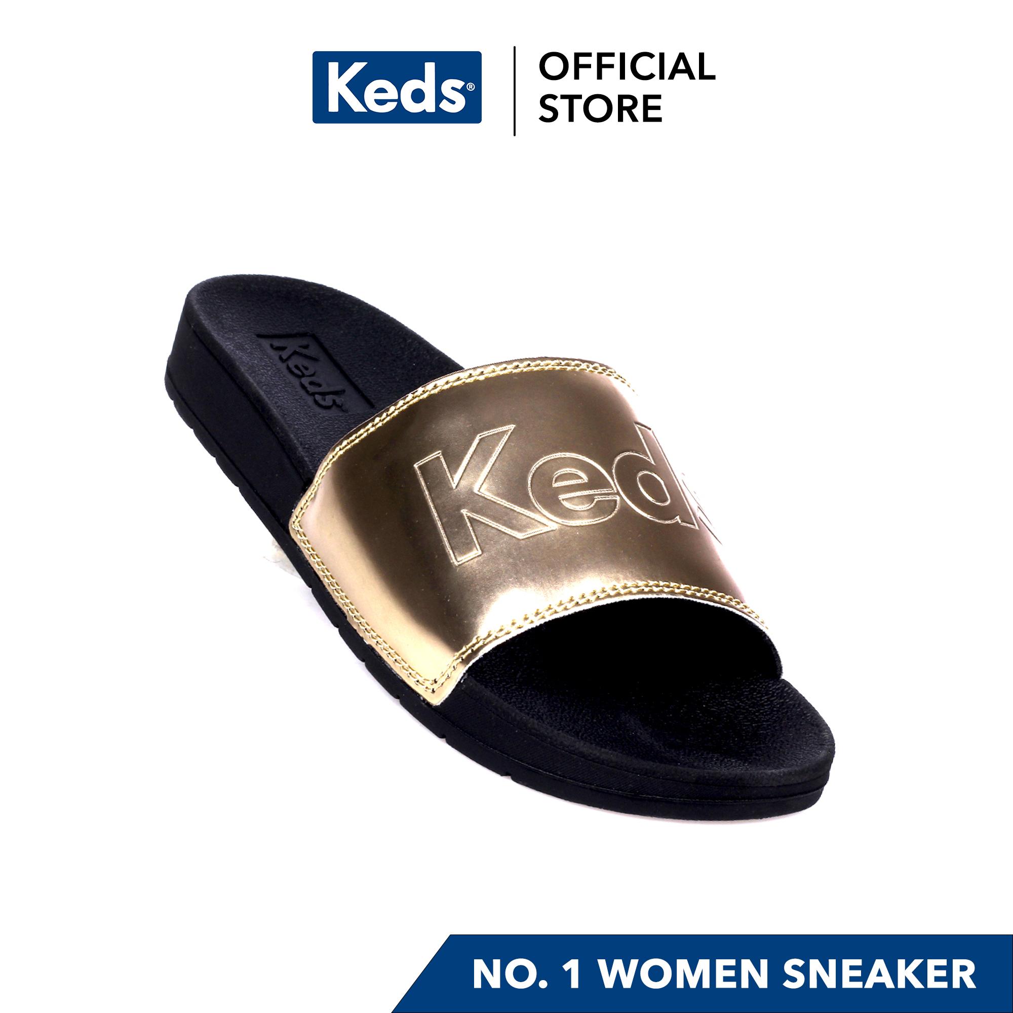 Keds Bliss II Sandal (Black/Rose Gold