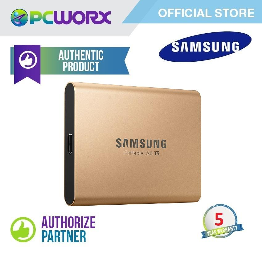 Samsung T5 500GB Portable SSD (MU-PA500G) 2 5 inch USB 3 1 External SSD  Speed Up to 540/MB, Ready Anytime, Anywhere and Shock resistant structure