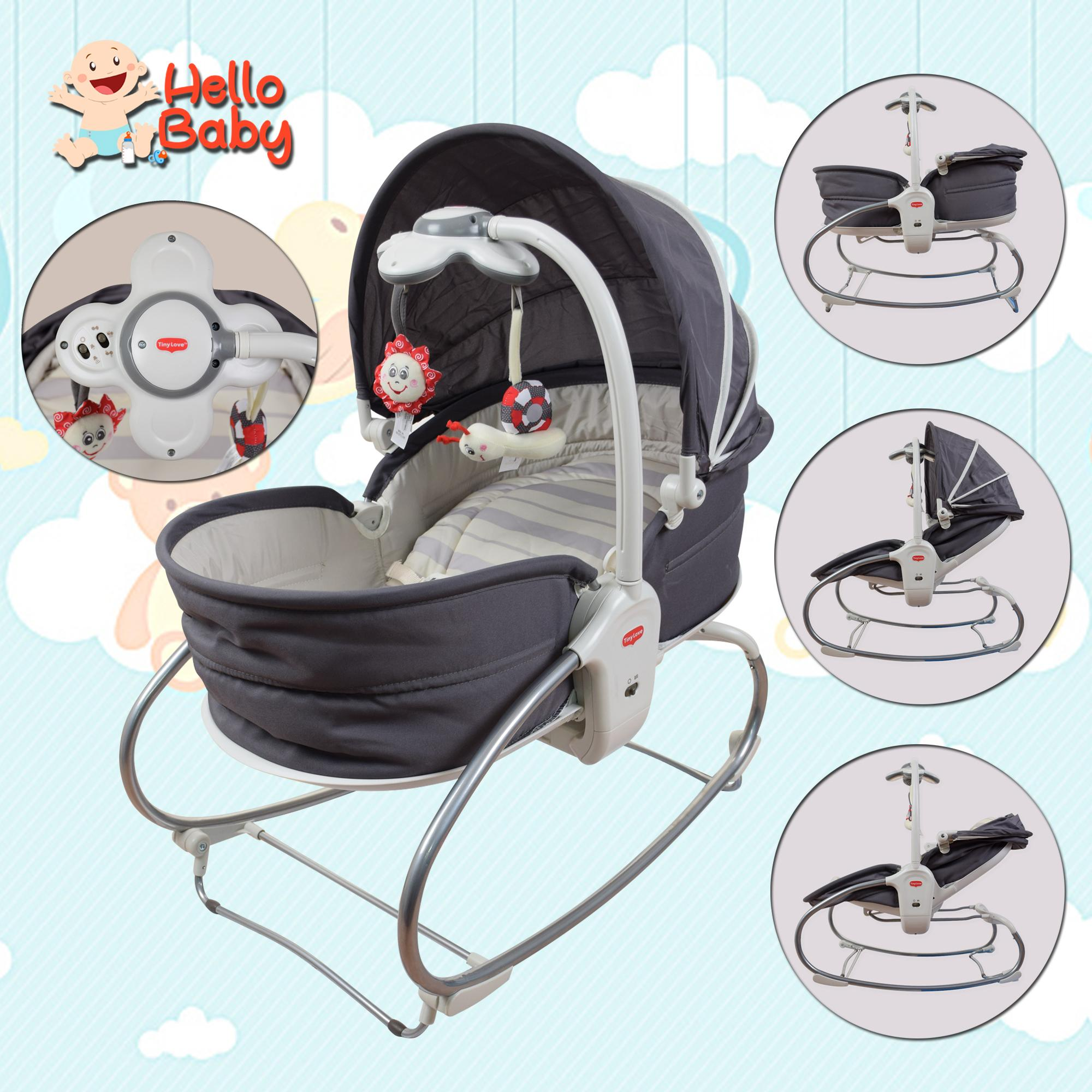 Hello Baby Tiny Love Cozy 3in1 Rocker-Napper By Hello Baby.