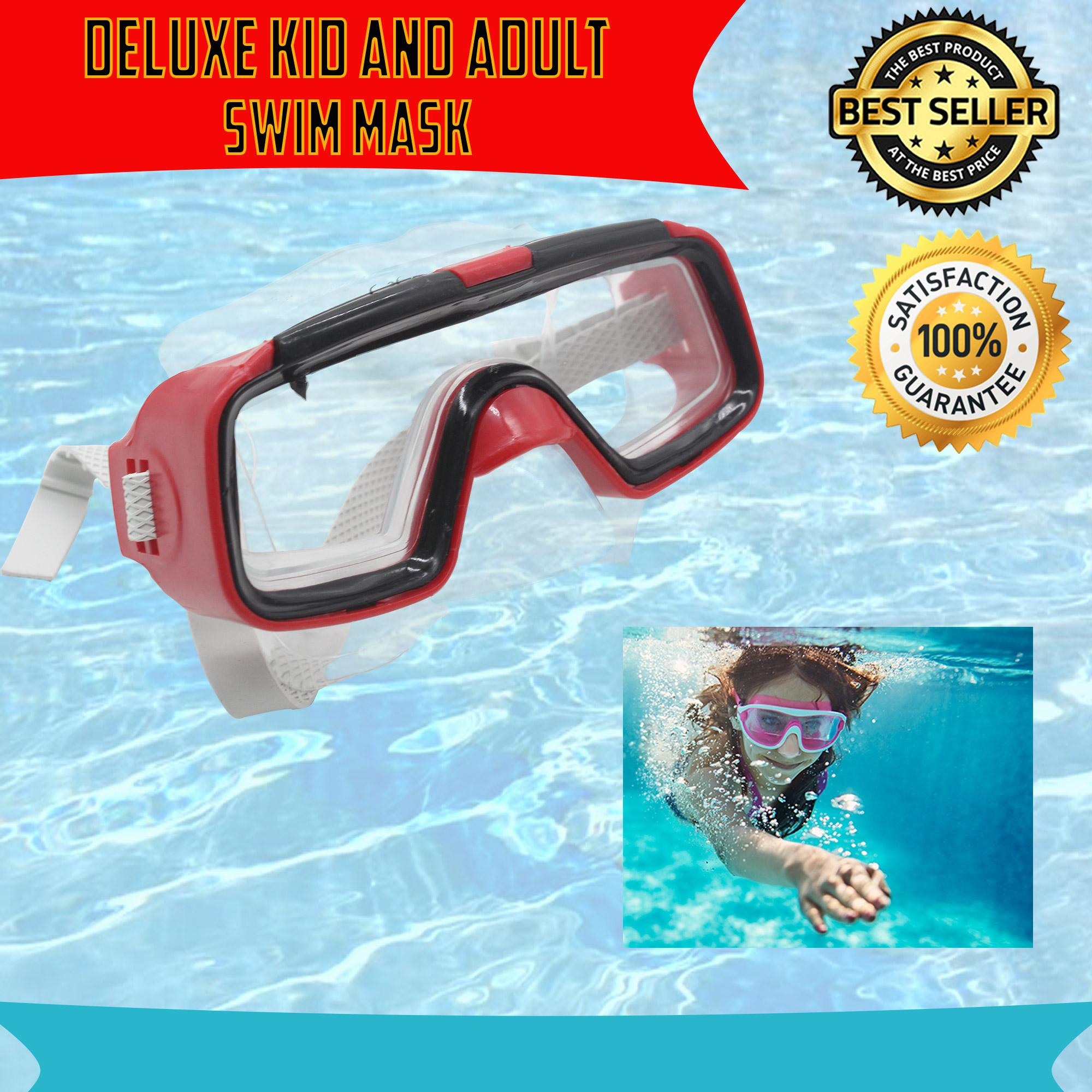 4db5ddcf709 Swimming Goggle Mask Waterproof Anti Fog Anti UV Soft Framework Swim Glasses  for kids and Adult