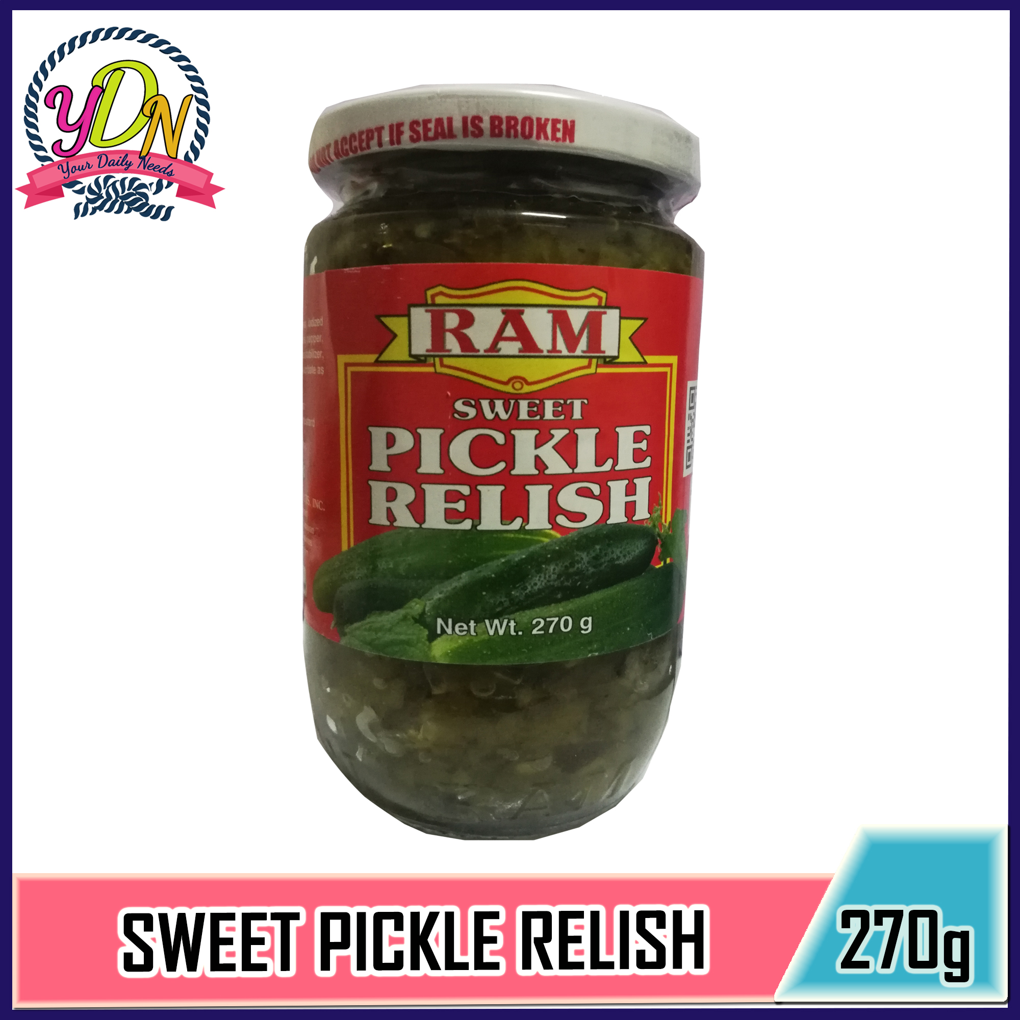 Delicious Ram Pickle Relish 270 Gram For Salad Sandwich Mixture Fish Accompaniment Health Benefits Of Pickles Contain Vitamin K Have Probiotic Powers Pickles Are Blood Sugar Friendly Round Out Your Daily Diet Replenish