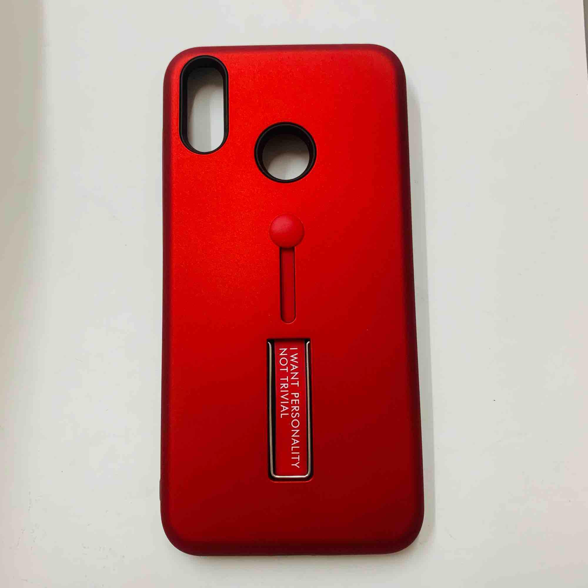 Asus zenfone max M2/ZB633KL armor case with ring stand