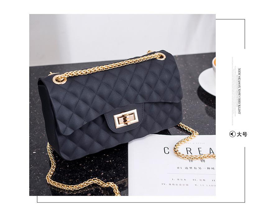 Ella  474 Jelly bag Elegant High Class Diamond Design Look Rich Fashion  Sling Bag Shoulder f2e37e1f1546c
