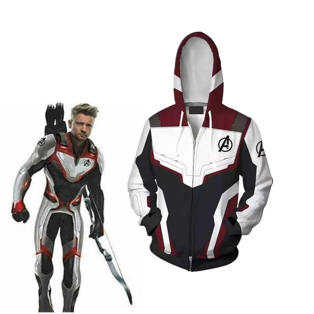 6685af37023b The Avengers 4 Endgame Quantum Realm Jacket 3D Print Zipper Hoodie Jacke  Superhero Cosplay Jacket Superhero