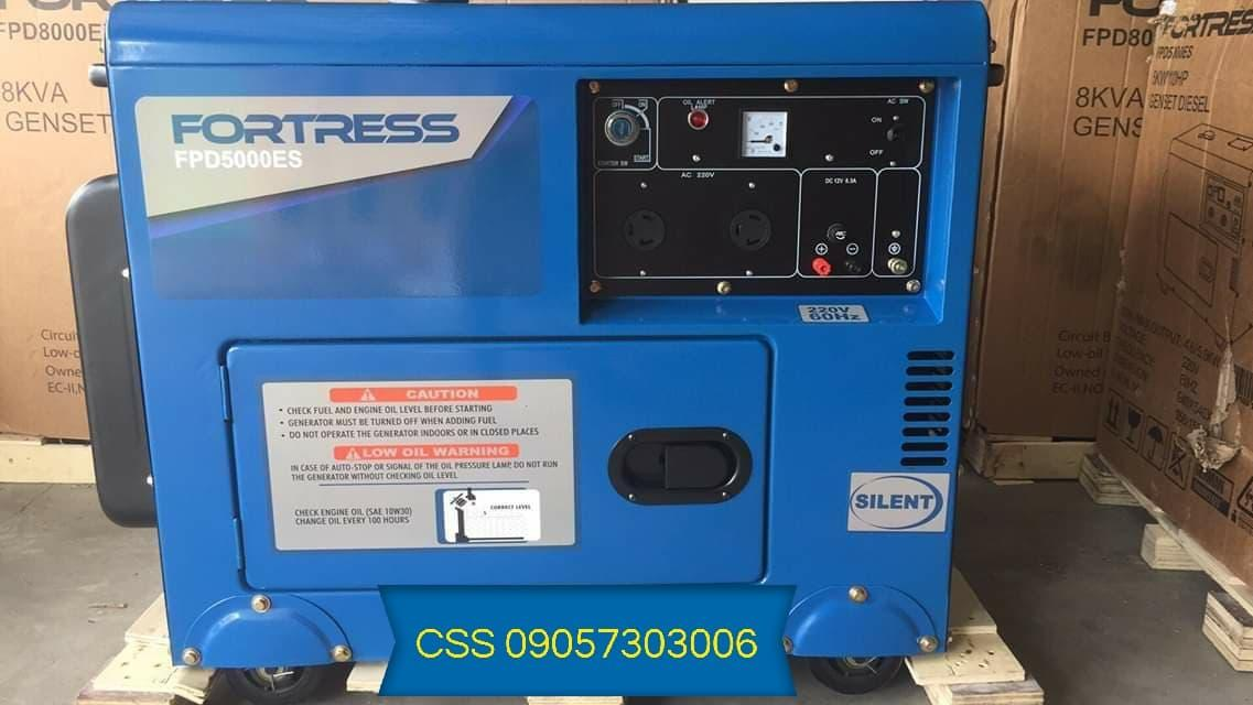 FORTRESS 5kva Diesel Silent Type Generator Set - FPD5000ES