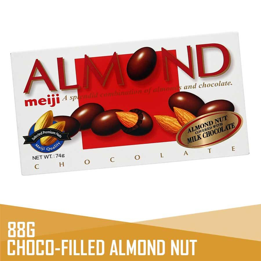 Japan > Meiji Almond Chocolate 88g