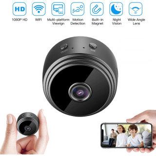 Hàng Có Sẵn ưu Đãi Thấp Nhất camera WIFI IP Mini 1080P HD, Máy Quay Phim DVR An Ninh Gia Đình Không Dây Tầm Nhìn Ban Đêm thumbnail