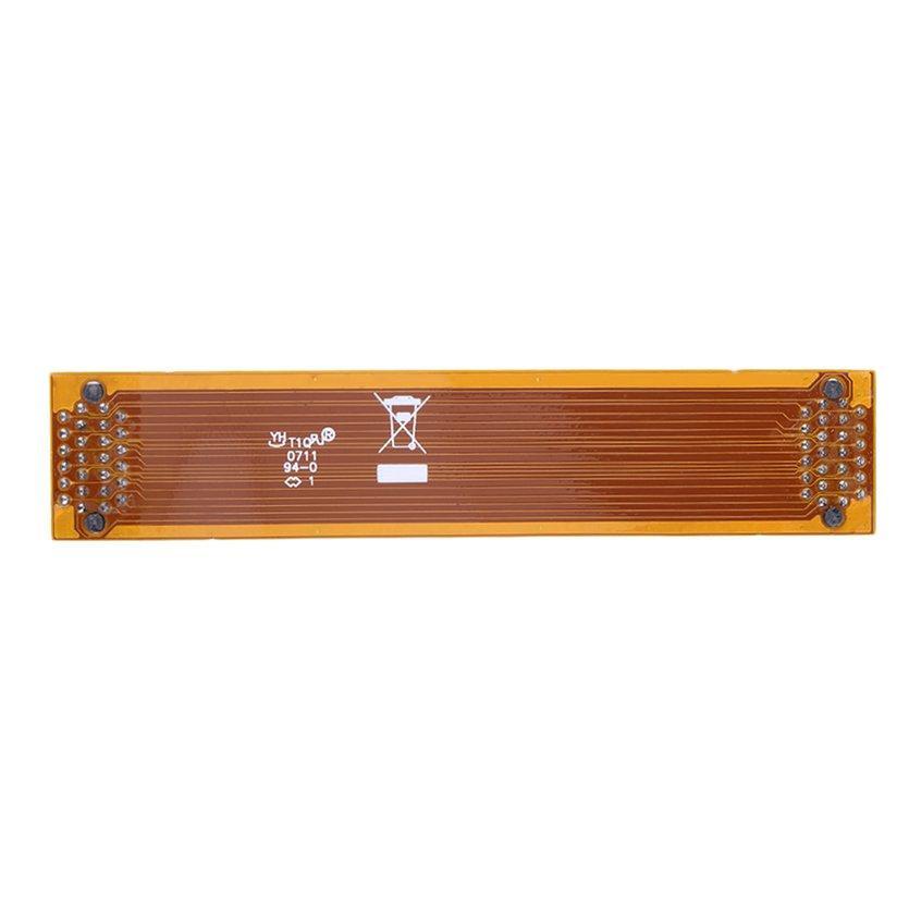 Oh Fleksibel 8 Cm 80 Mm SLI Bridge PCI-E Kabel Video Kartu Alat Penghubung untuk ASUS
