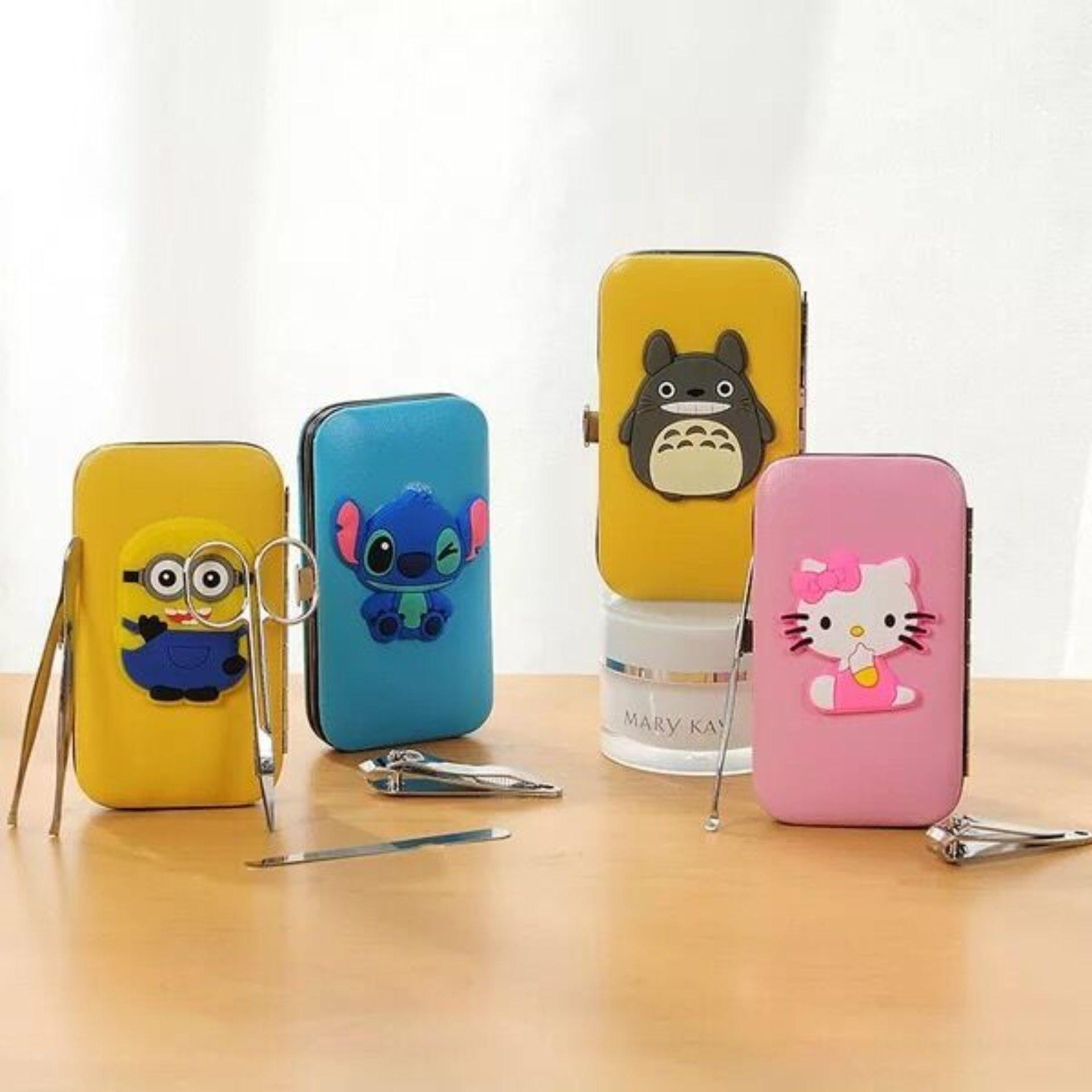 Fashionline Cartoon Character Manicure And Pedicure Nail Tool Set Philippines