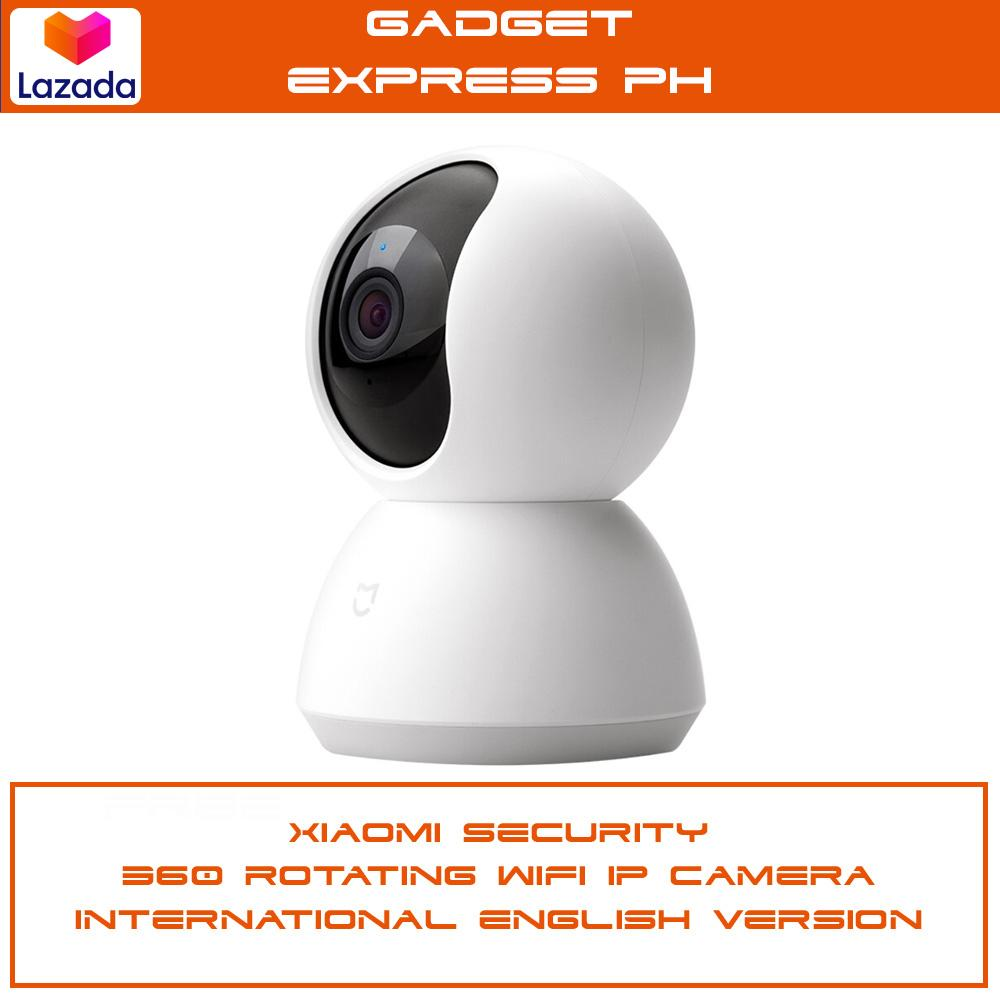 Xiaomi CCTV Security Camera 360 Rotating Wifi IP Cam International Version  - White