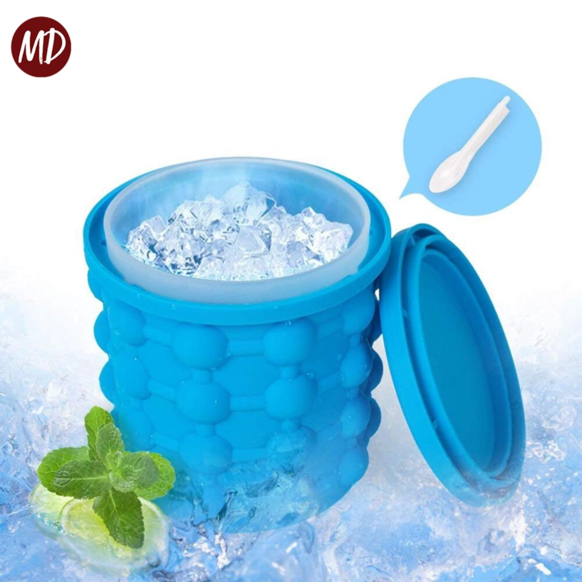 Md Silicone Ice Cube Maker Genie The Revolutionary Space Saving Ice Cube Maker By Mega Deal.
