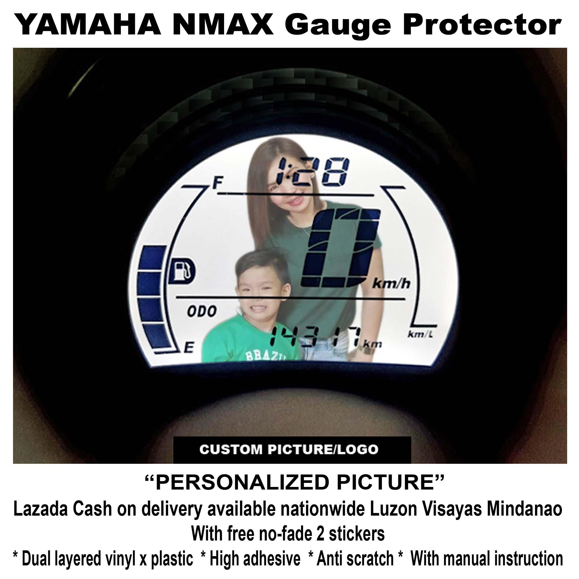 NMAX GAUGE PROTECTOR (PERSONALIZED PICTURE)