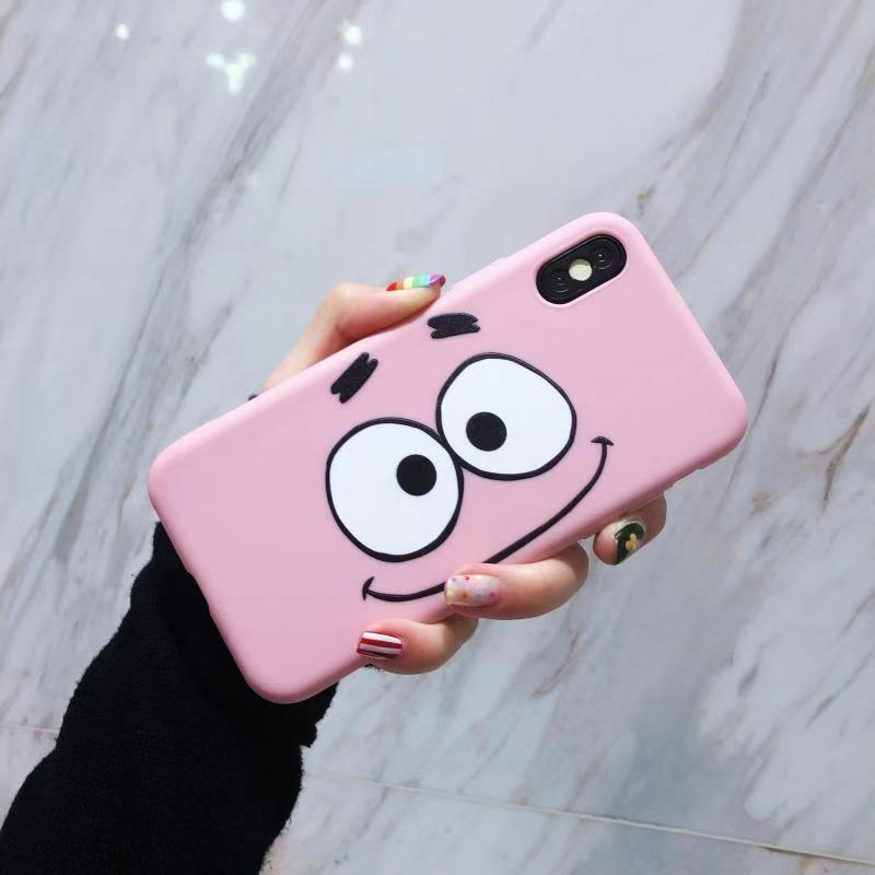 Spongebob And Patrick Candy Case For Iphone Oppo Vivo Samsung Huawei 5 5s Se 6 6s 7 8 Plus A3s A83 F9 A37 F1s Y53 Y91 J2 J4 Plus V5 Lite J7 Prime Pro A7 2018 2 Lite Y7 Prime 3i Y6 Pro 2019 By Cjv_enterprises.