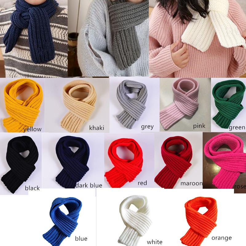 9e01c27a2 scarves boys and girls lovely fashion autumn and winter toddlers Infant  baby kids warm Scarf