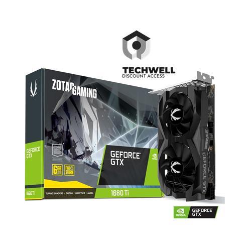 Zotac Gaming Geforce Gtx 1660 Ti 6gb Gddr6 Zt-T16610f-10l By Techwell.