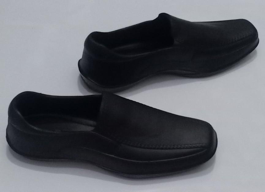 Splasher Black Shoes for Him