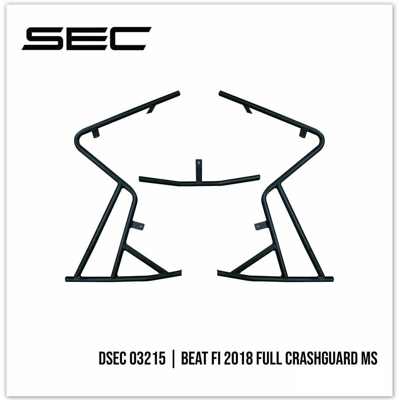 DSEC 03215 Honda Beat Fi 2018 Full Crash Guard MS