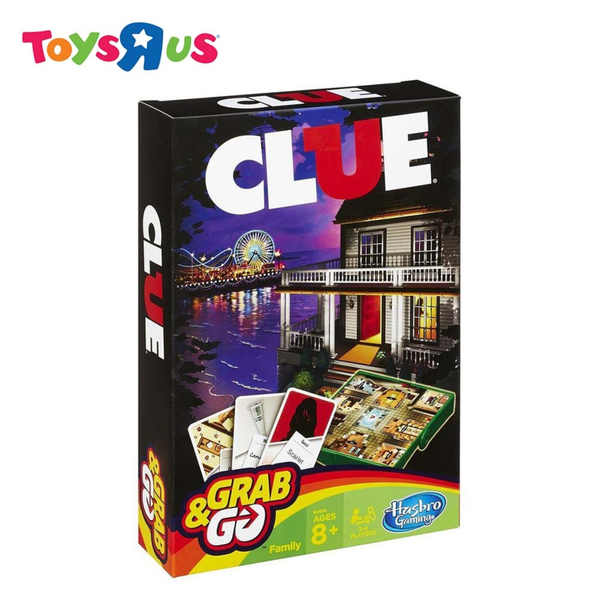 Hasbro Gaming Grab and Go Clue