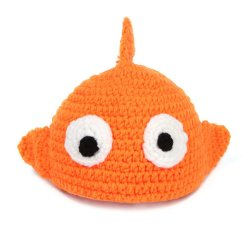 Baby Girls Boy Gold Fish Newborn 0-12 Month Knit Crochet Clothes Photo Prop Outfits (Intl)