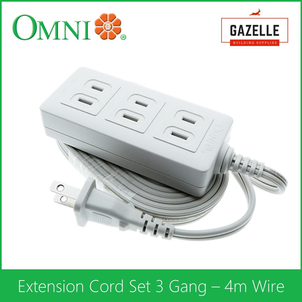 Omni Philippines Electrical Equipment For Sale Prices Wiring 4 Outlet Plug Extension Cord Set 3 Gang Meter Wire Wee 003