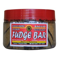 Baguio Fudge Bar (Clear brown)