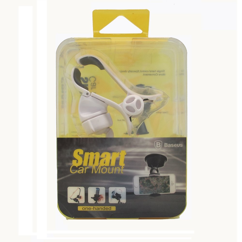 Baseus Car Suction QU02 Smart Car Mount (White)