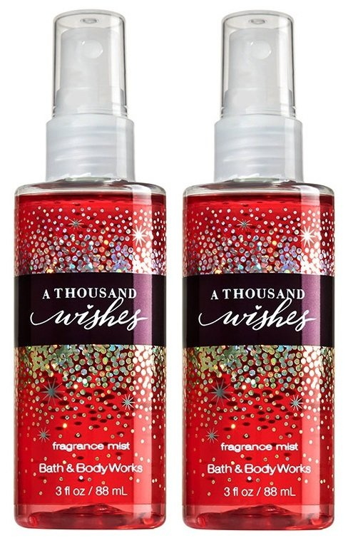 Bath and Body Works A Thousand Wishes Fragrance Mist 88 ml Set of 2 - thumbnail