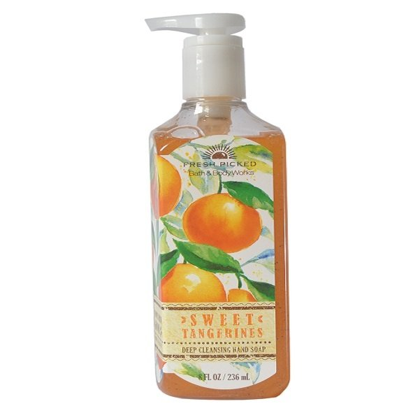 Bath and Body Works Sweet Tangerine Deep Cleansing Hand Soap 236ml