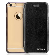 Bavin Protective Frosted Shell Flip PU Cover Case for iPhone 6 Plus/6s Plus (