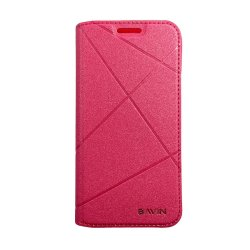 Bavin Tempered Glass for Samsung Galaxy E5a (Pink)