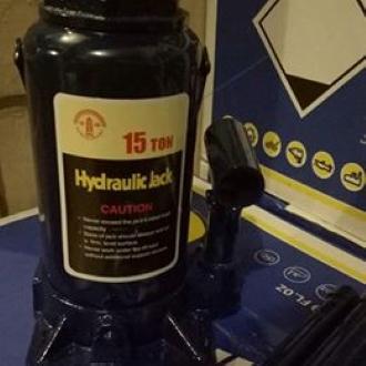 Hydraulic Bottle Jack - 15 tons