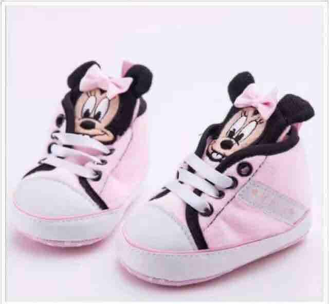Minnie Mouse Infant Shoes 3month To 12month By Kids.shop.