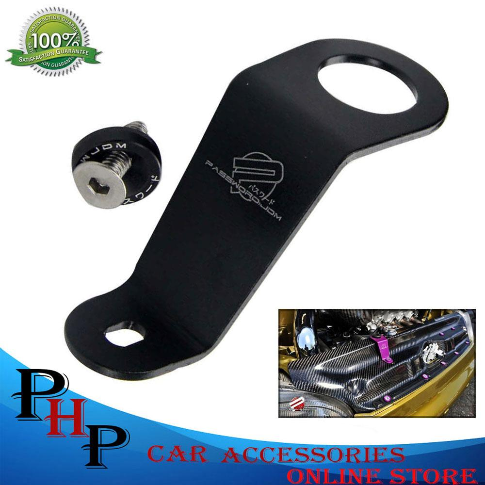 Password Jdm Water Tank Radiator Stay Bracket For Honda Civic Eg 1992-1995 (black) By Php Car Accessories.
