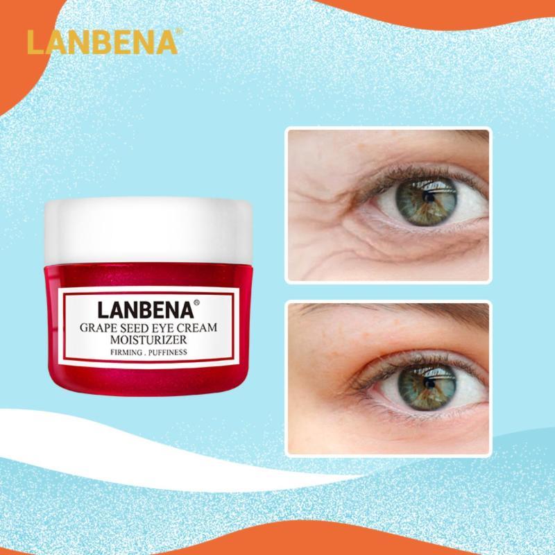 Lanbena อายครีม ครีมทาหน้า ลดเลือนริ้วรอยรอบดวงตา สกัดจากเมล็ดองุ่น ยกกระชับผิวหน้า ต่อต้านริ้วรอย Eye Cream40 กรัม.