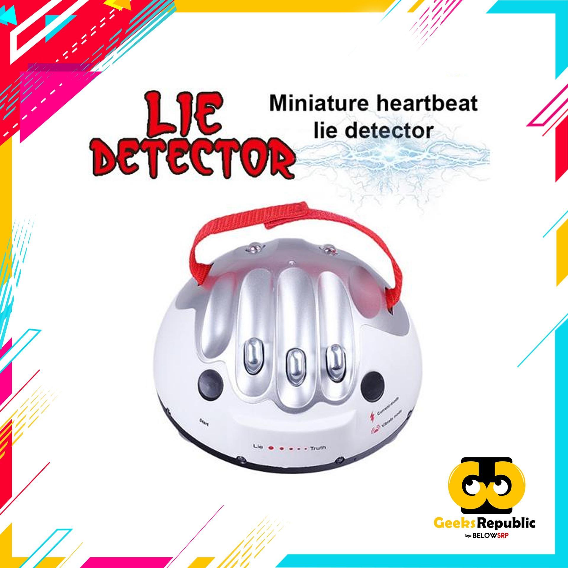 Geeks Republic Lie Detector Test Game By Geeks Republic.