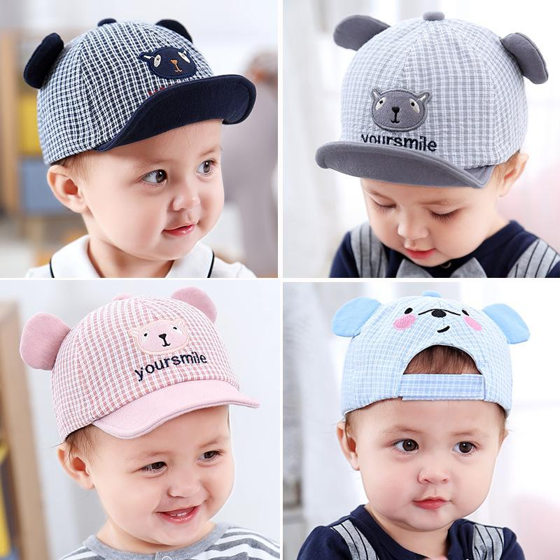 9680fedb4 YOUR SMILE-for 3-12 Months-- Korean Happy Prince MZ7293 Fashion Cute New  Toddler Infant Child Baby Boys Adjustable Hat Soft Cotton Baseball Caps ...