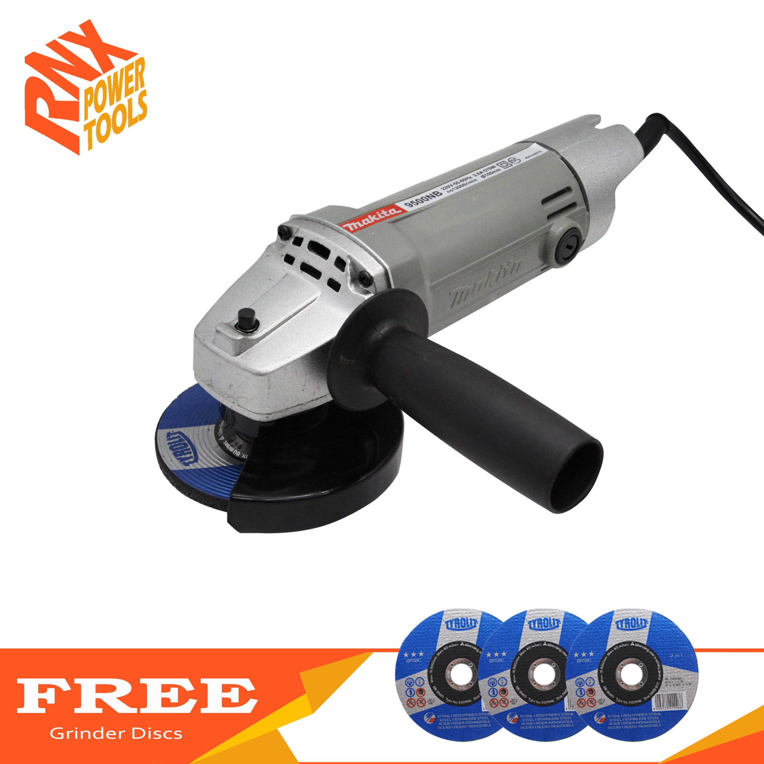 Bosch Small Angle Grinder Gws 8 100 Z With 3 Accessories